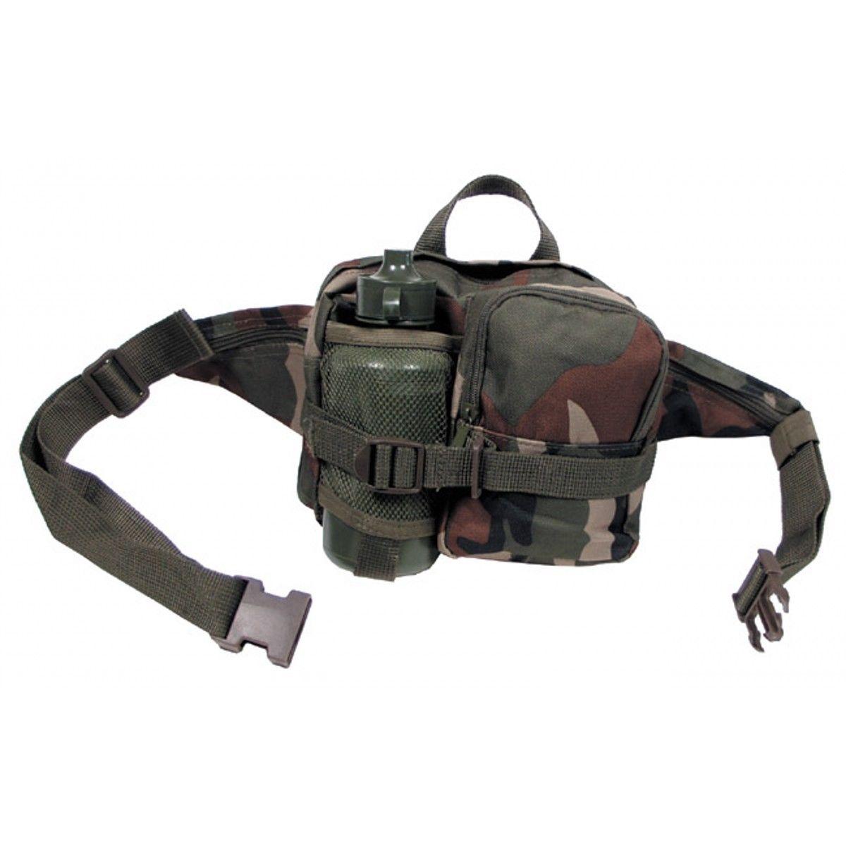 Hüfttasche mit Trinkflasche  0,7 l Bauchtasche Outdoor PackTasche  Gürteltasche